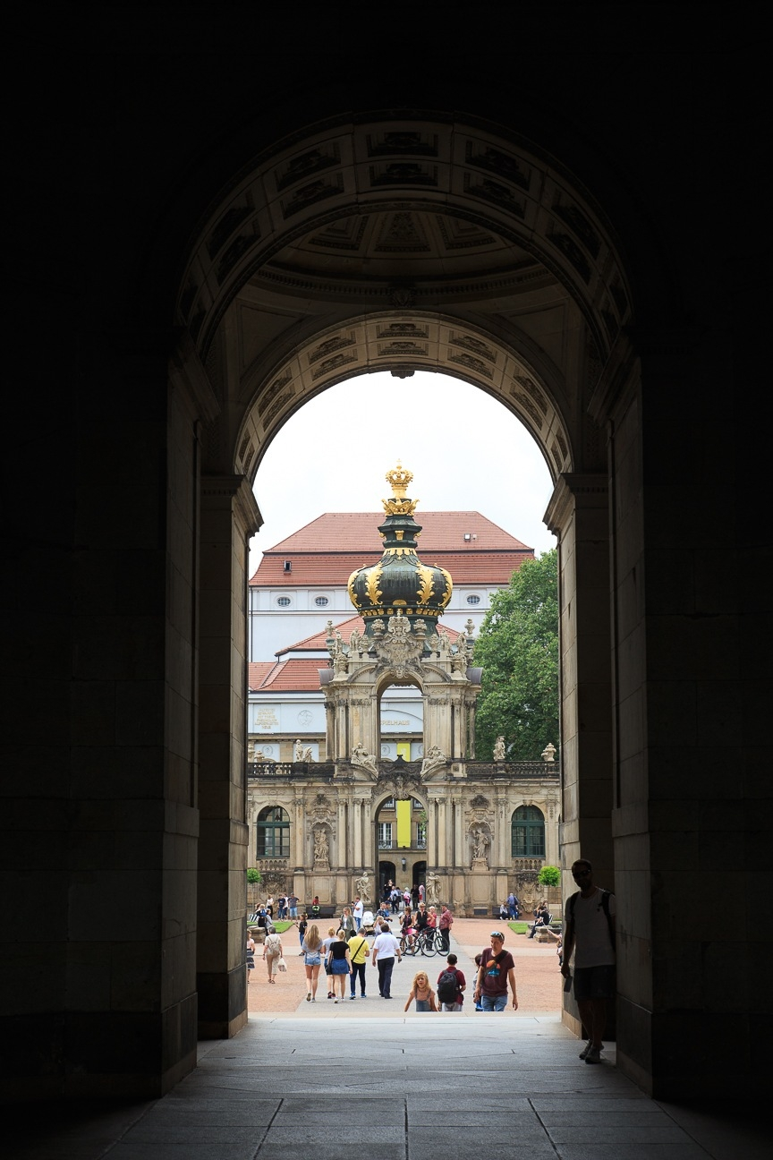 Que ver en Dresde Jardines del Zwinger