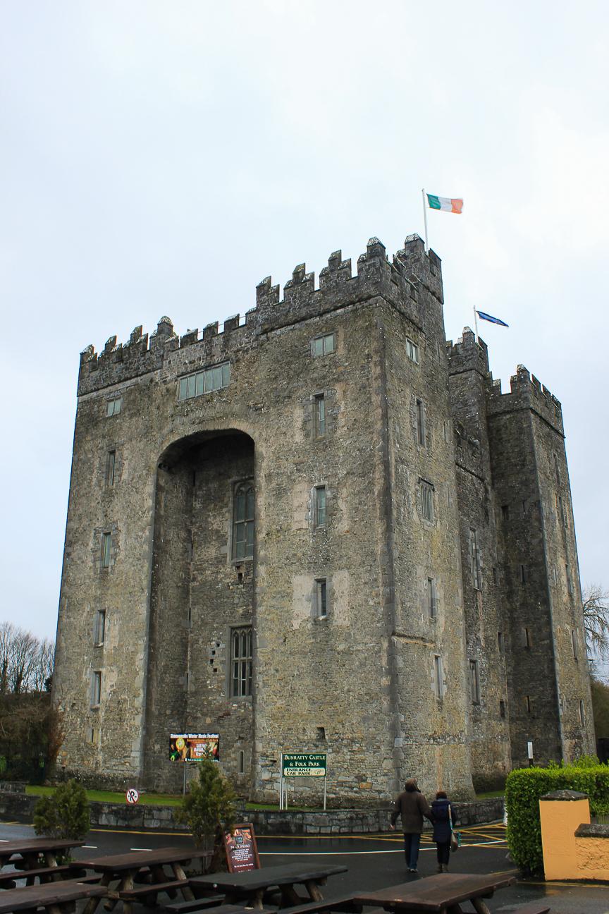 Que ver en Dublin Castillo de Dunluce