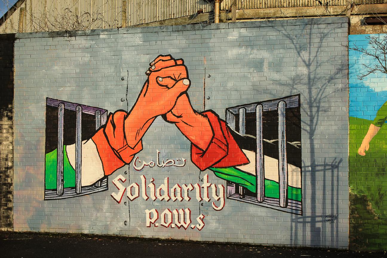 Que ver en Dublin muro de la paz de Belfast