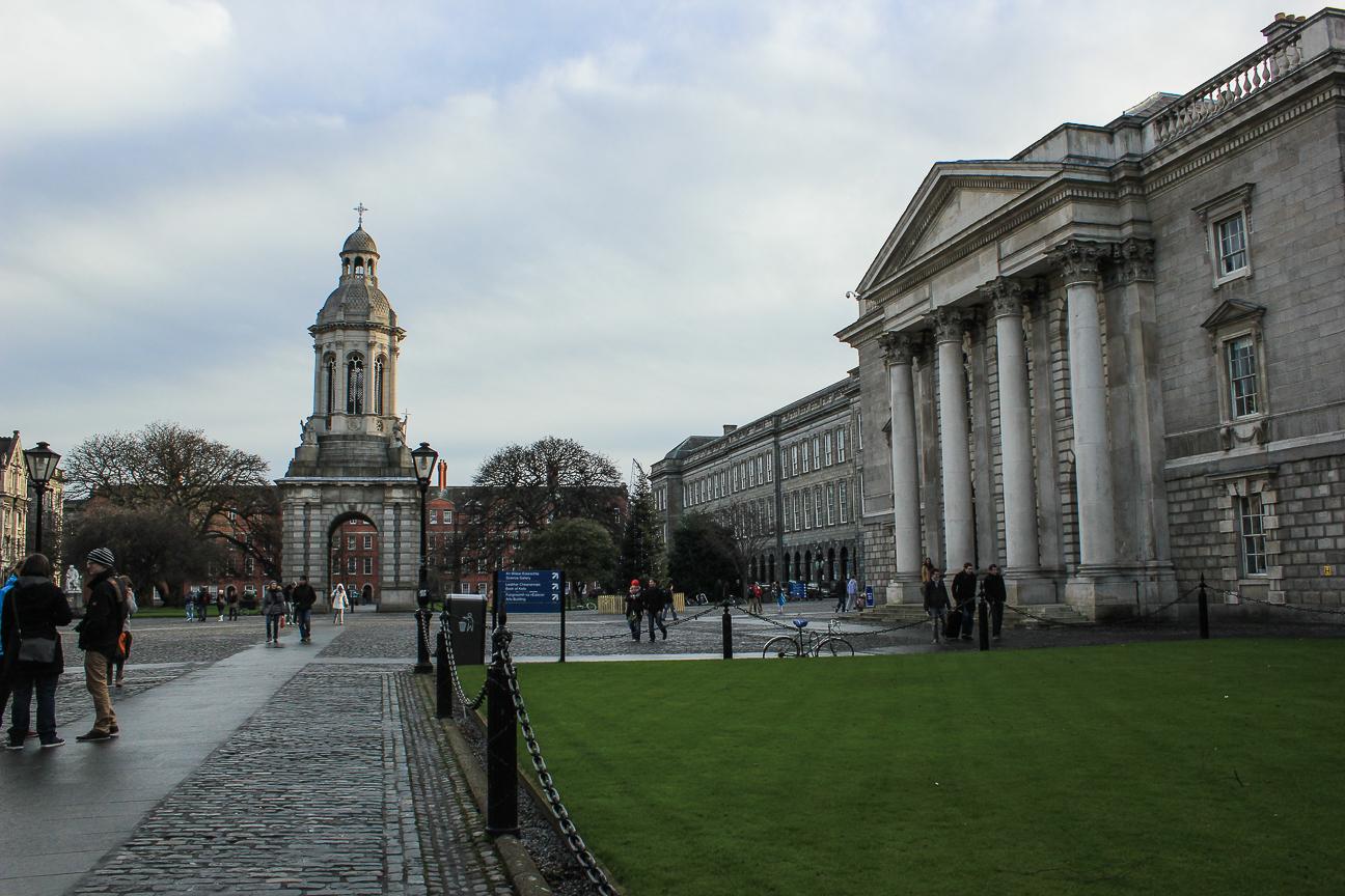 Que ver en Dublin Trinity College