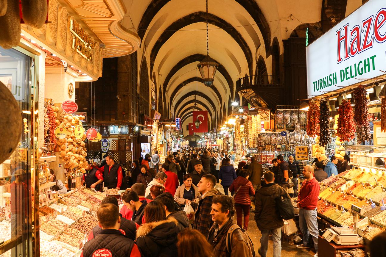 Que ver en Estambul Bazaar de las especias