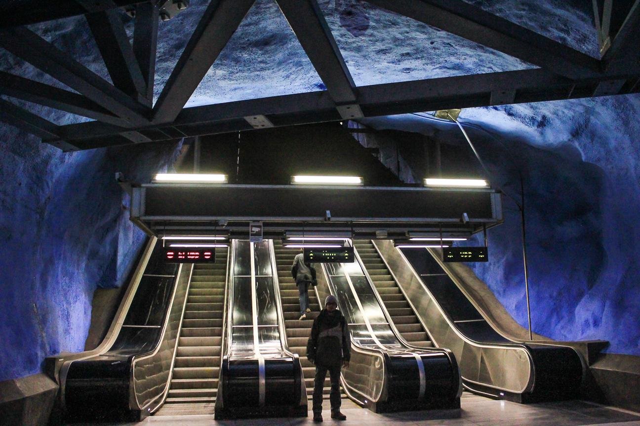 Que ver en Estocolmo Metro