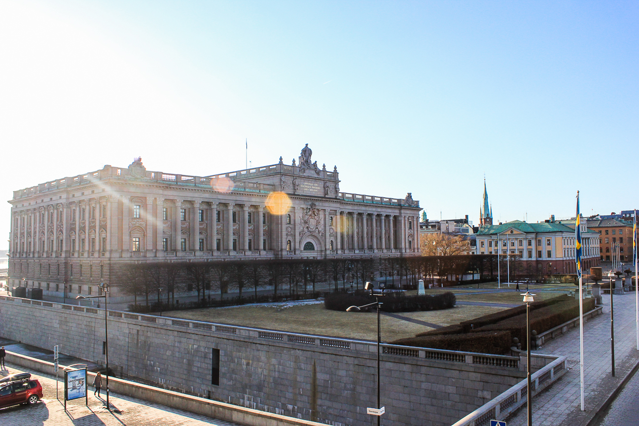 Que ver en Estocolmo Parlamento