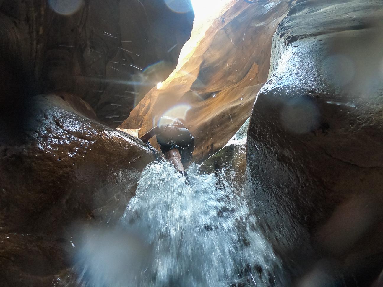 Que ver en Jordania Barranquismo Wadi Mujib