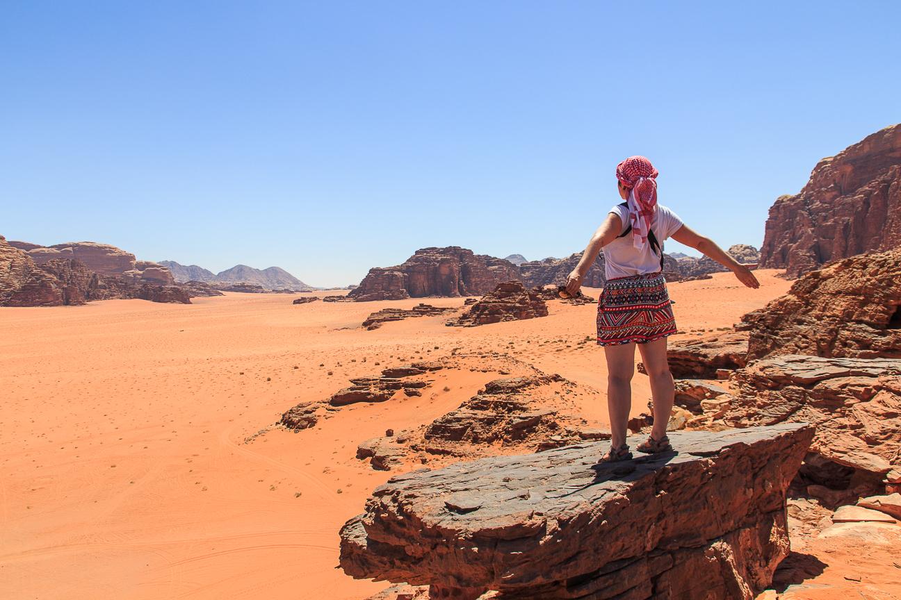 Que ver en Jordania Desierto Wadi Rum