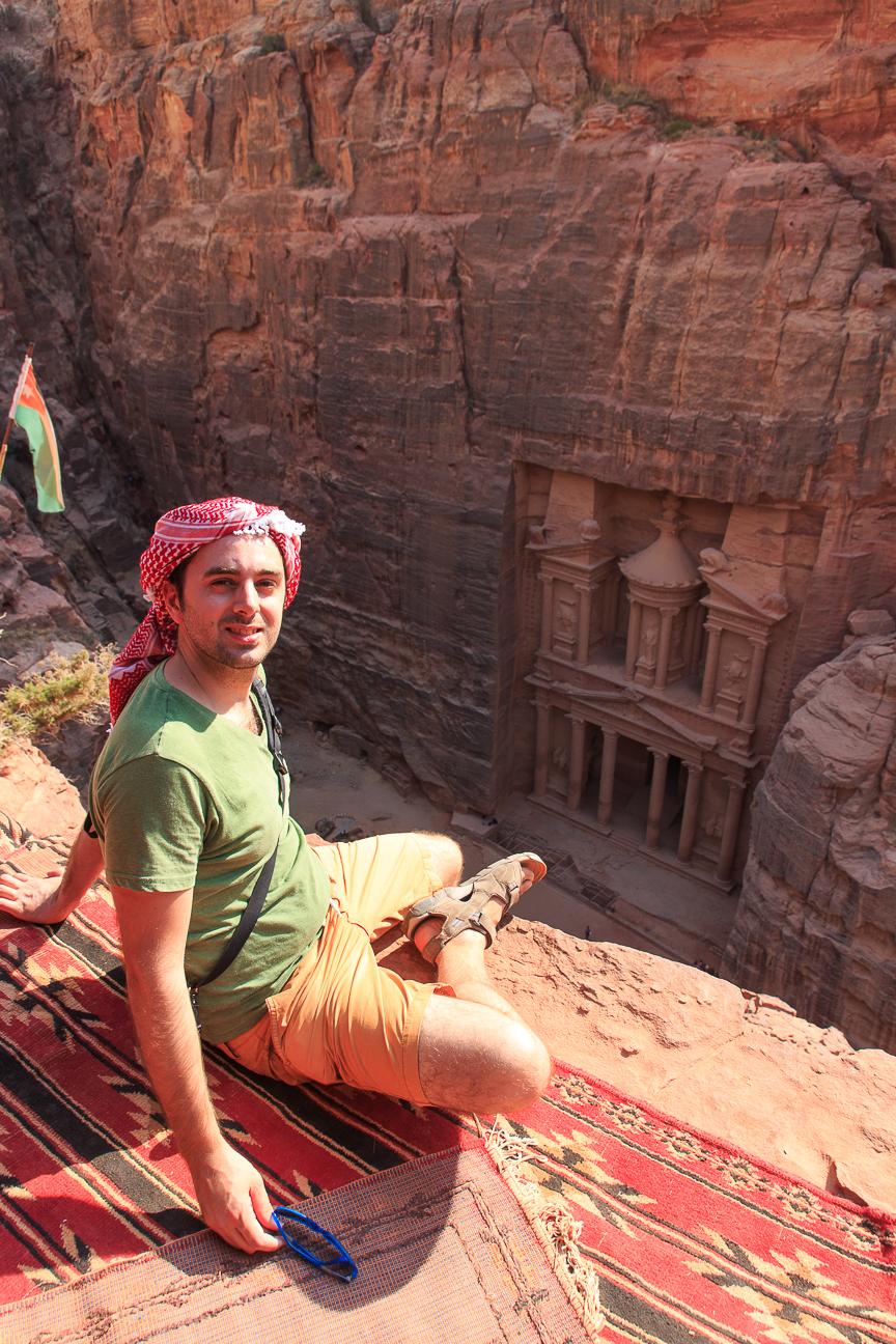 Que ver en Jordania Mirador Tesoro Petra