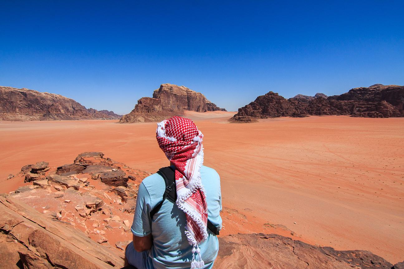 Que ver en Jordania Paisaje Wadi Rum