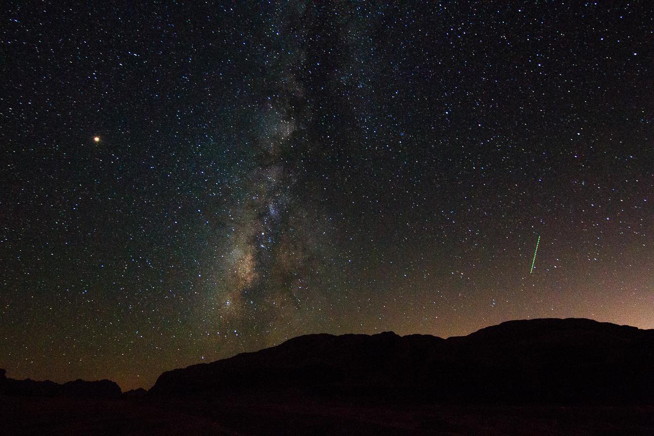 Que ver en Jordania Via Lactea desierto Wadi Rum