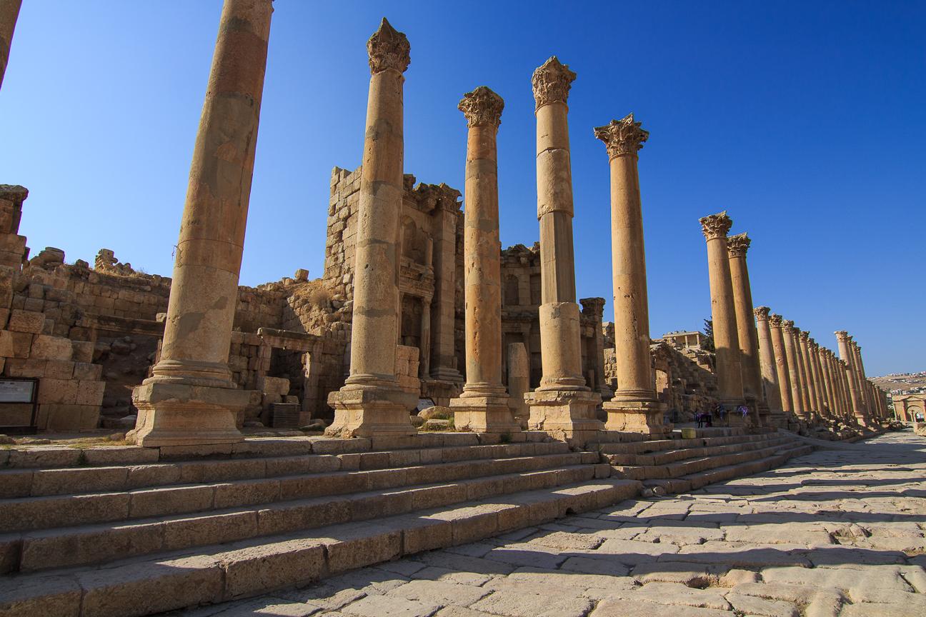 Que ver en Jordania Via Romana Jerash