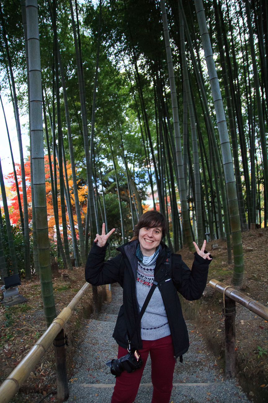 Que ver en Kioto bosque bambu Kodaiji