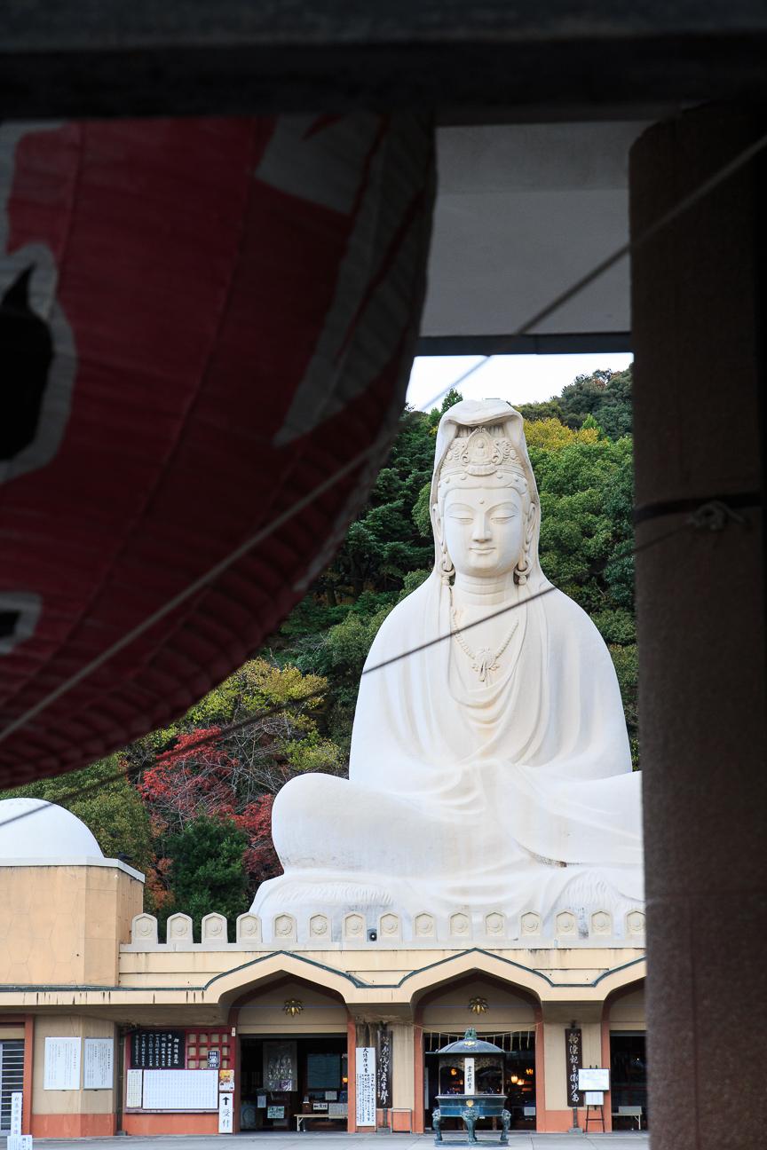 Que ver en Kioto budha gigante Ryozen Kannon