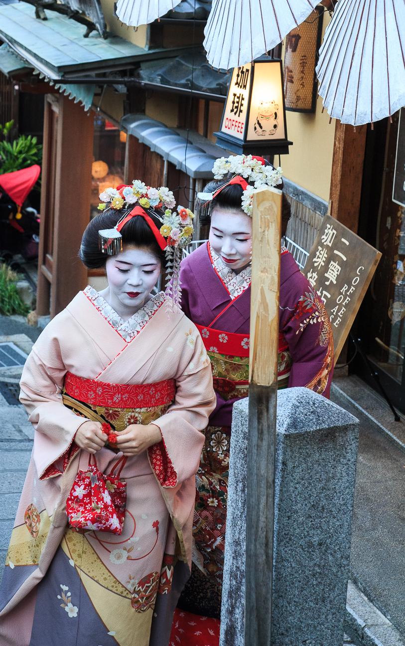 Que ver en Kioto Maikos en Kioto
