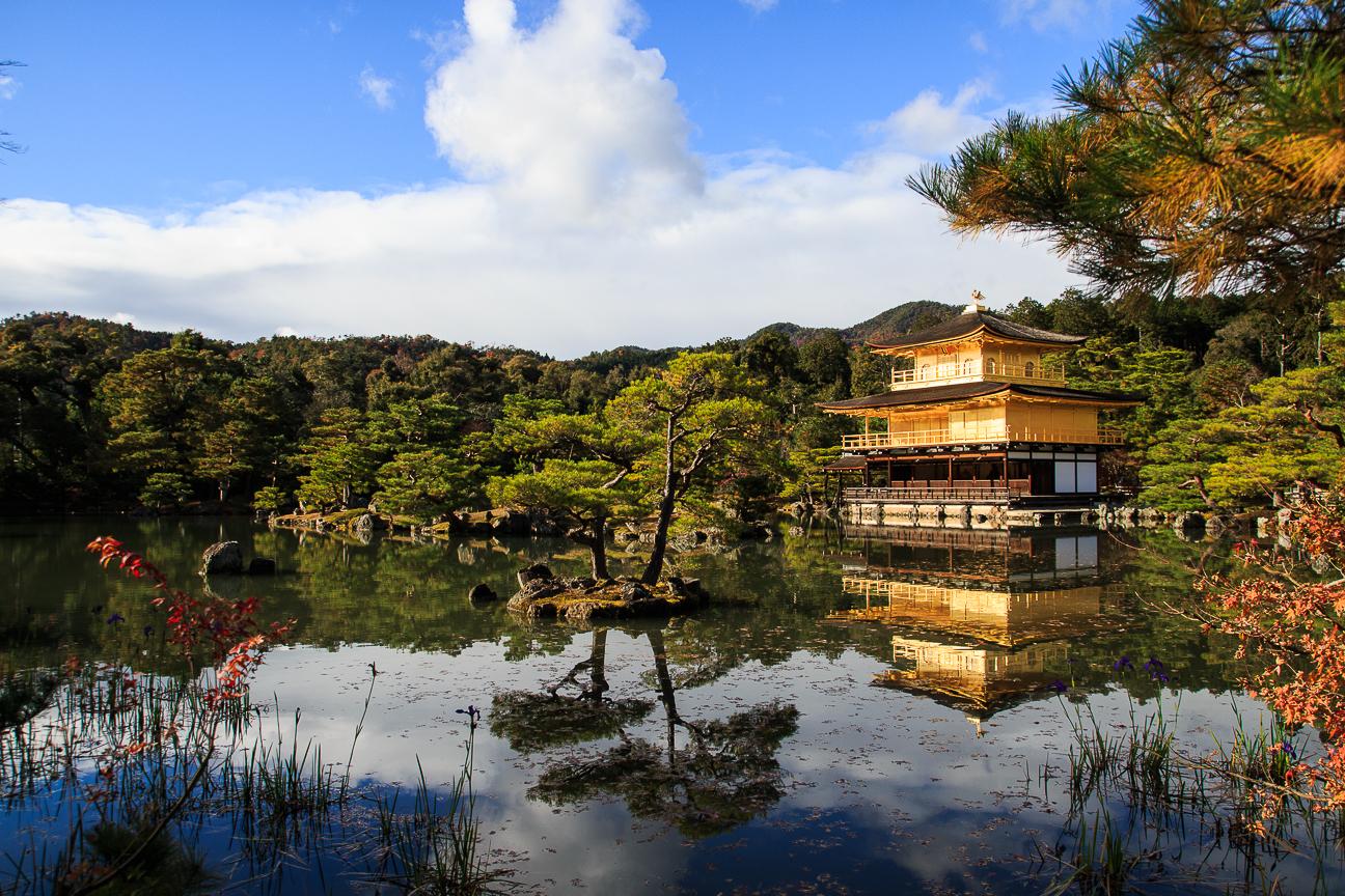 Que ver en Kioto templo Kinkakuji