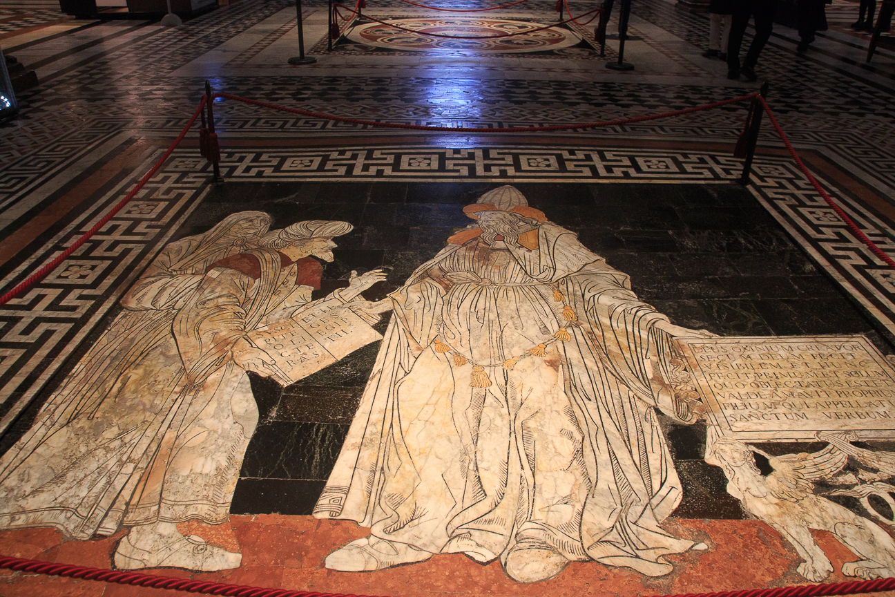 Que ver en la Toscana marmol Duomo Siena