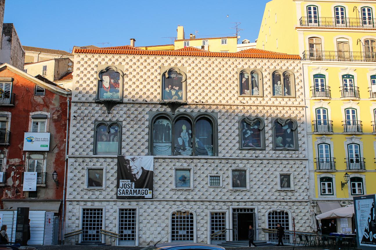 Que ver en Lisboa - Casa dos bicos