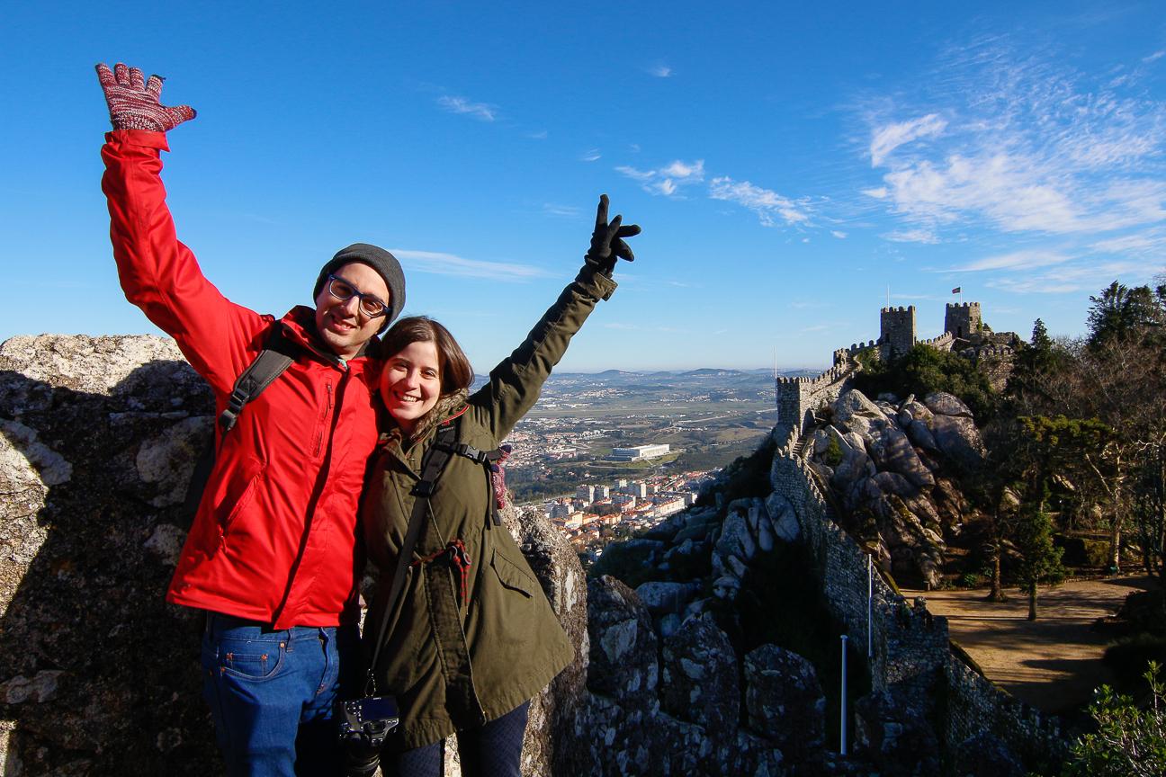 Que ver en Lisboa - Castillo dos Mouros en Sintra