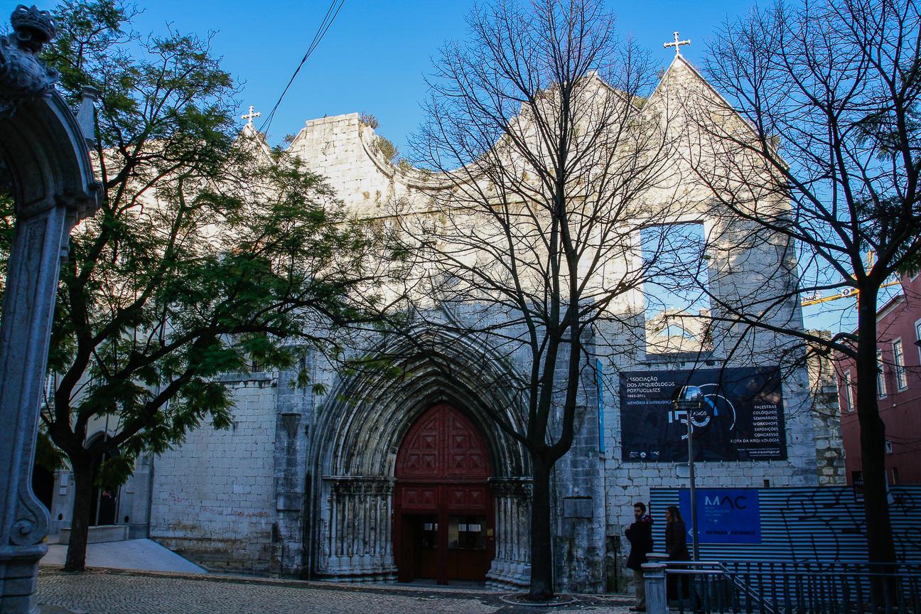 Que ver en Lisboa - Convento do Carmen