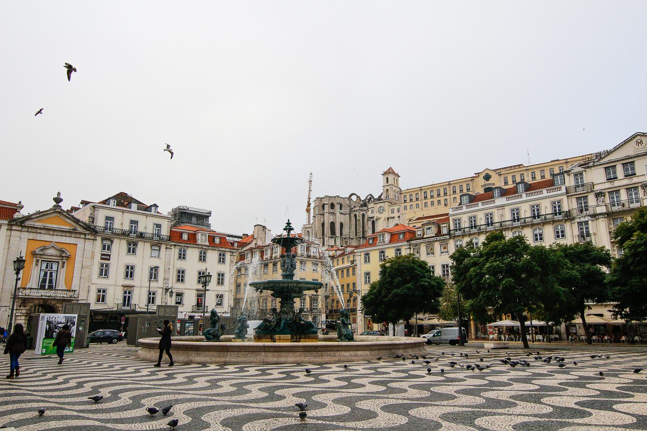 Que ver en Lisboa - Plaza de Rossio