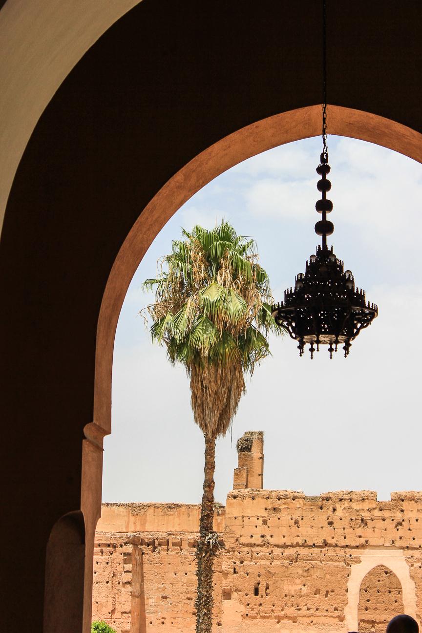 Que ver en Marrakech ruinas del palacio Badi
