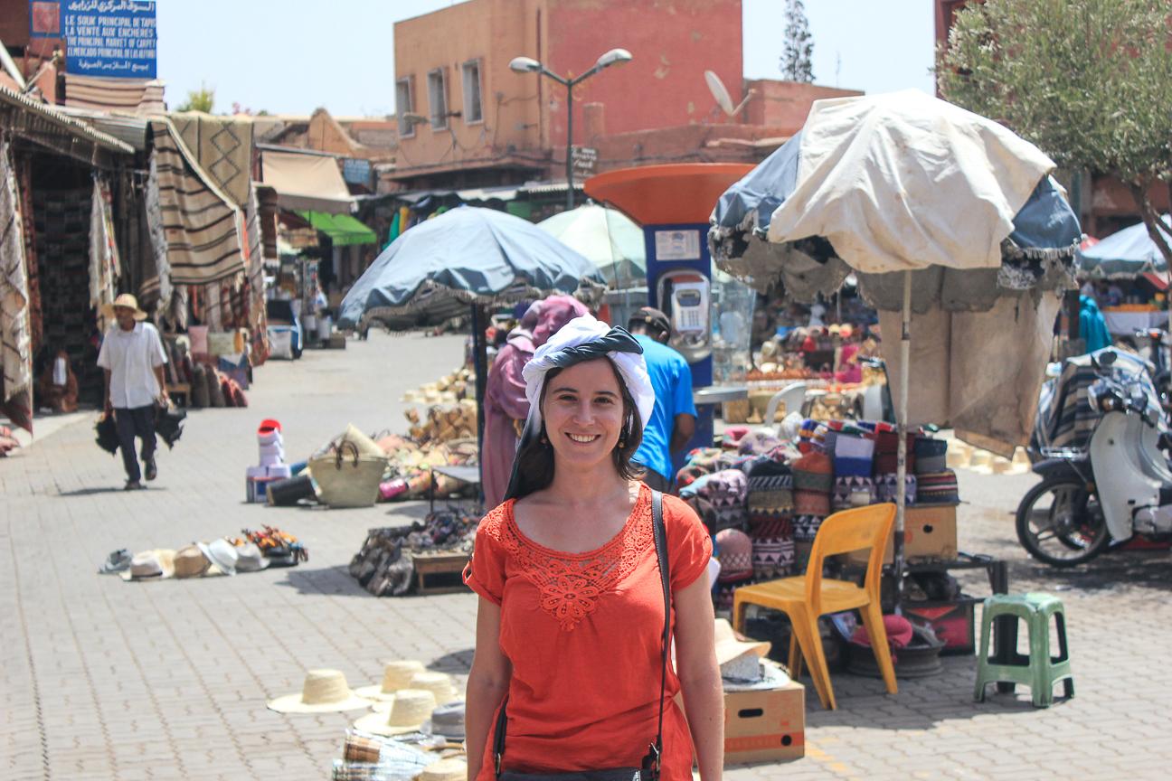 Que ver en Marrakech el zoco