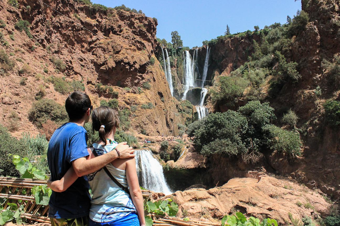 Que ver en Marrakech Excursion a las cascadas de Ouzoud