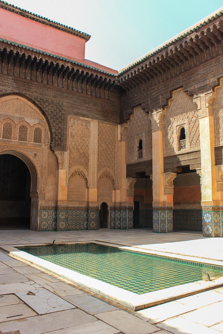 Que ver en Marrakech Madraza Ben Youssef