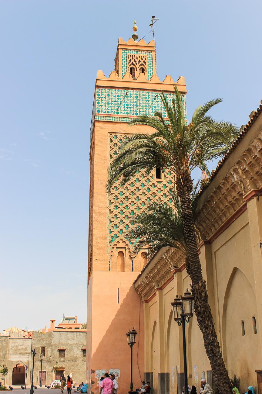 Que ver en Marrakech minarete