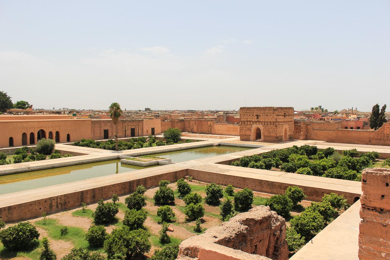 Que ver en Marrakech Palacio el Badi