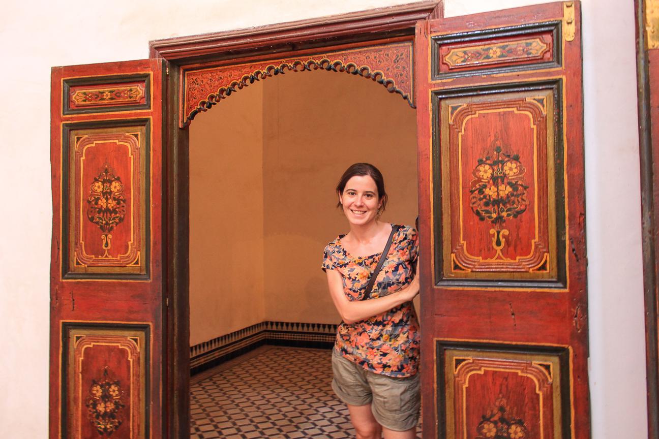 Que ver en Marrakech Palacio Bahia