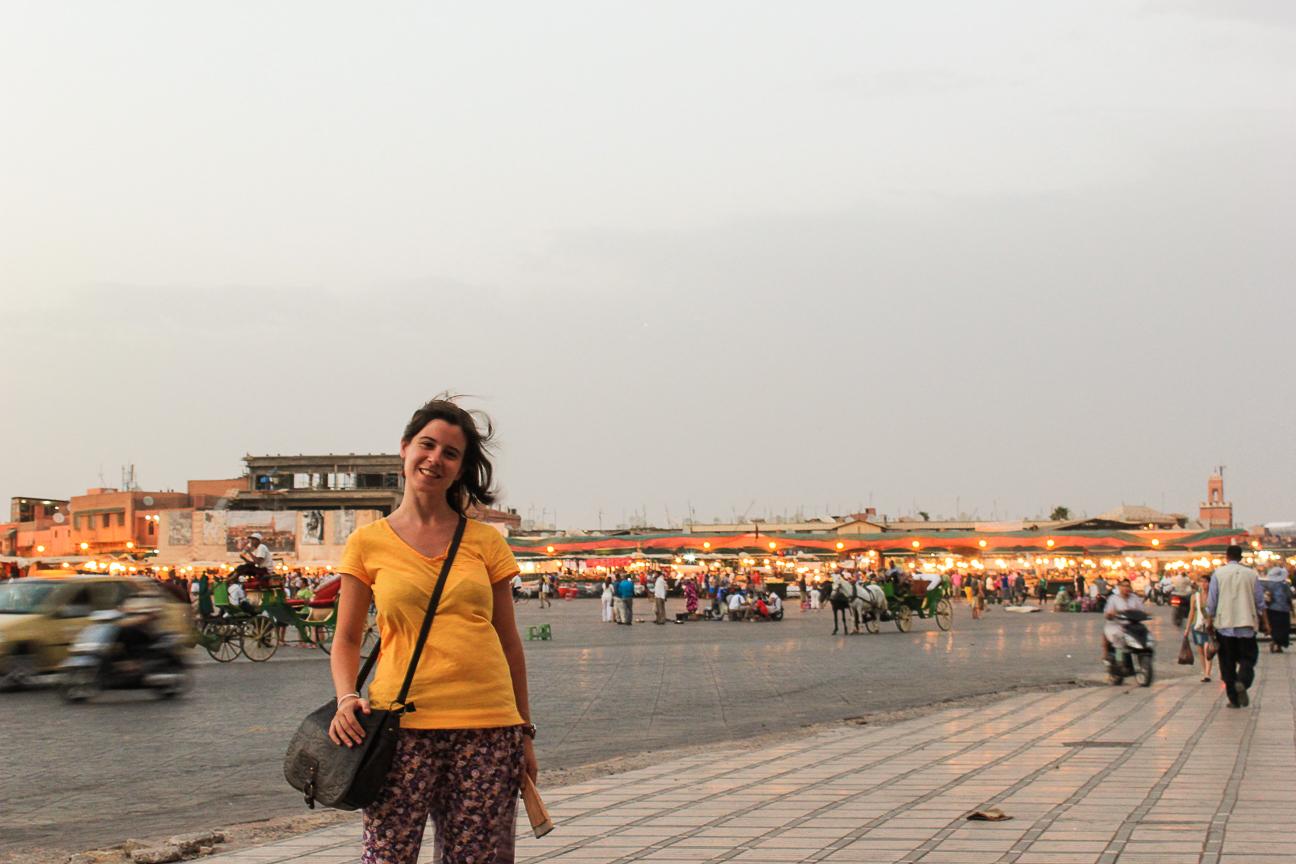 Que ver en Marrakech Plaza Yamaa el Fna