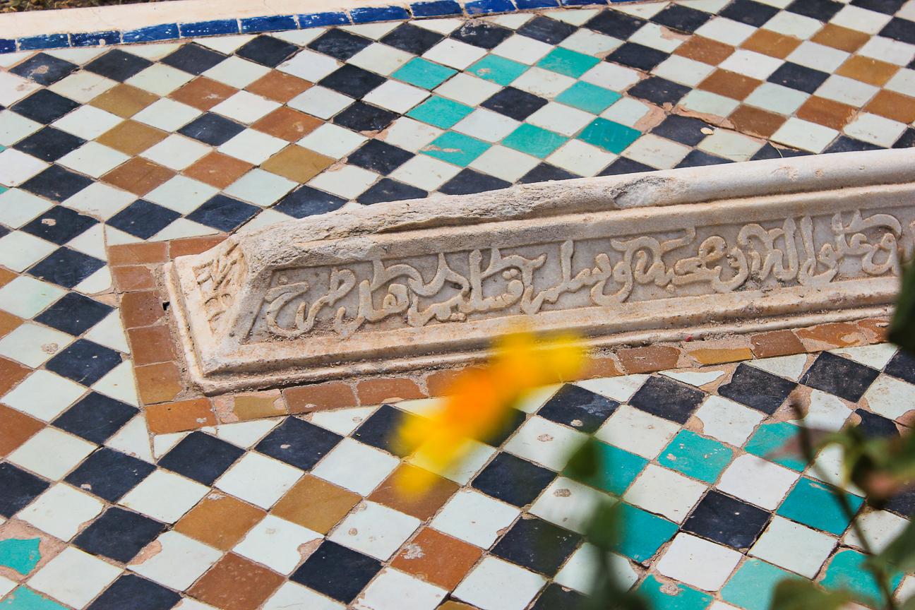 Que ver en Marrakech Tumba Saadie