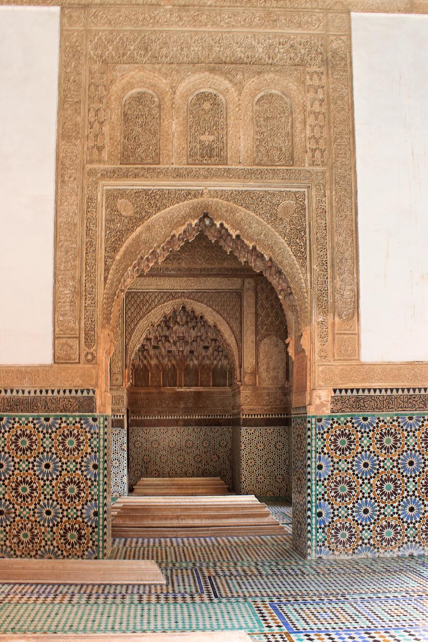 Que ver en Marrakech Tumbas Saadies