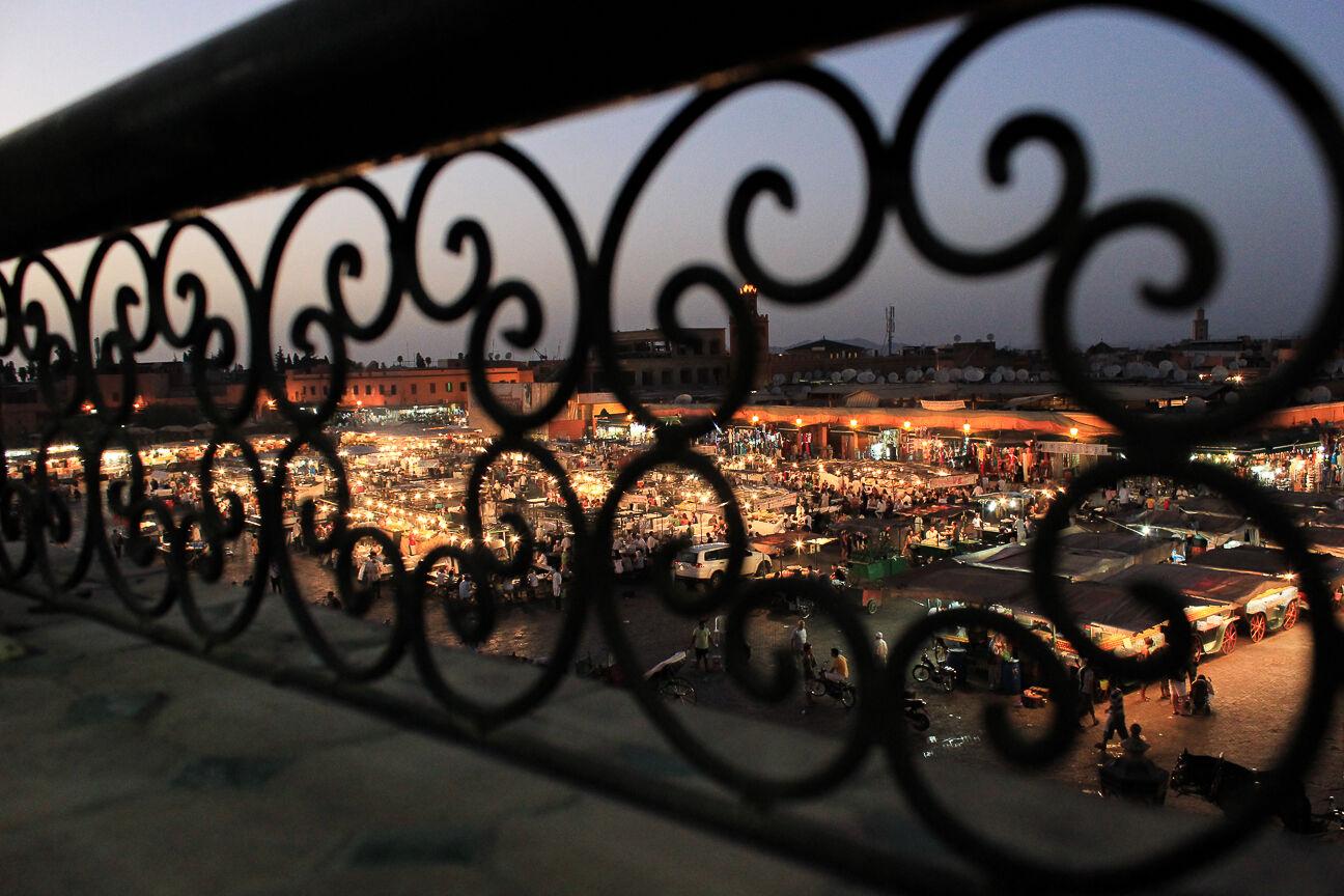 Que ver en Marrakech Yamma el Fna de noche