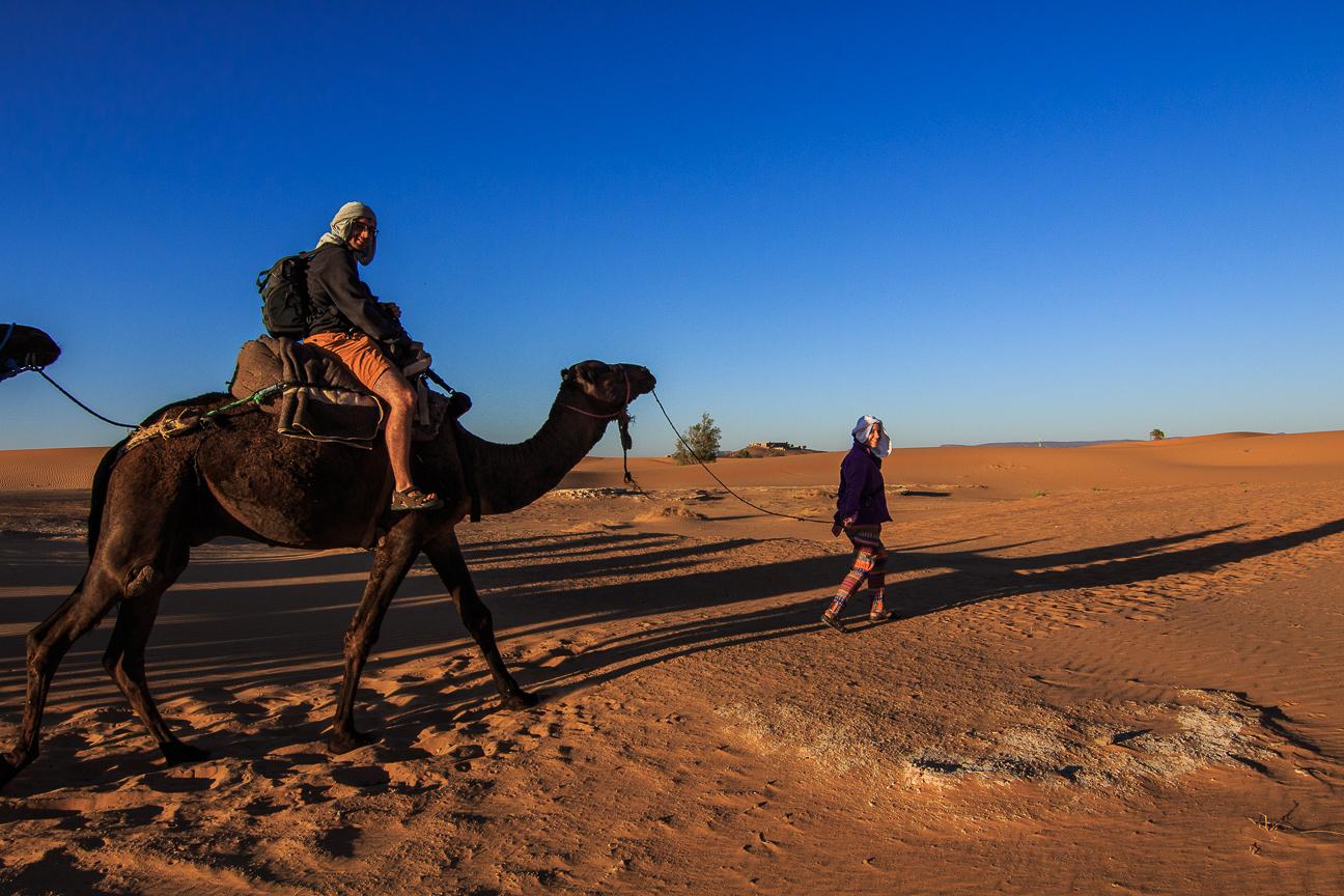 Que ver en Marruecos Paseo en camello