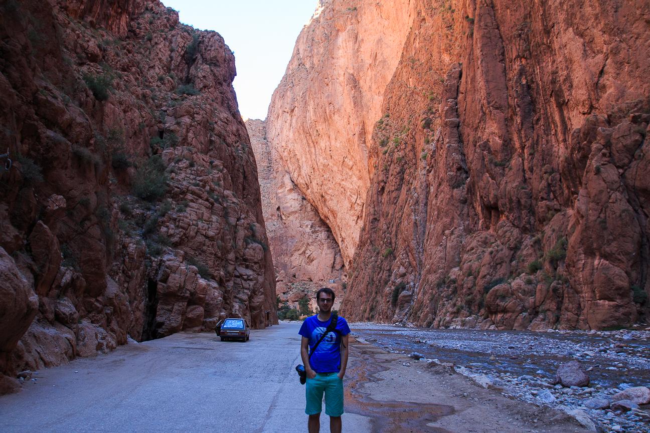 Que ver en Marruecos Paseo por las gargantas del Todra