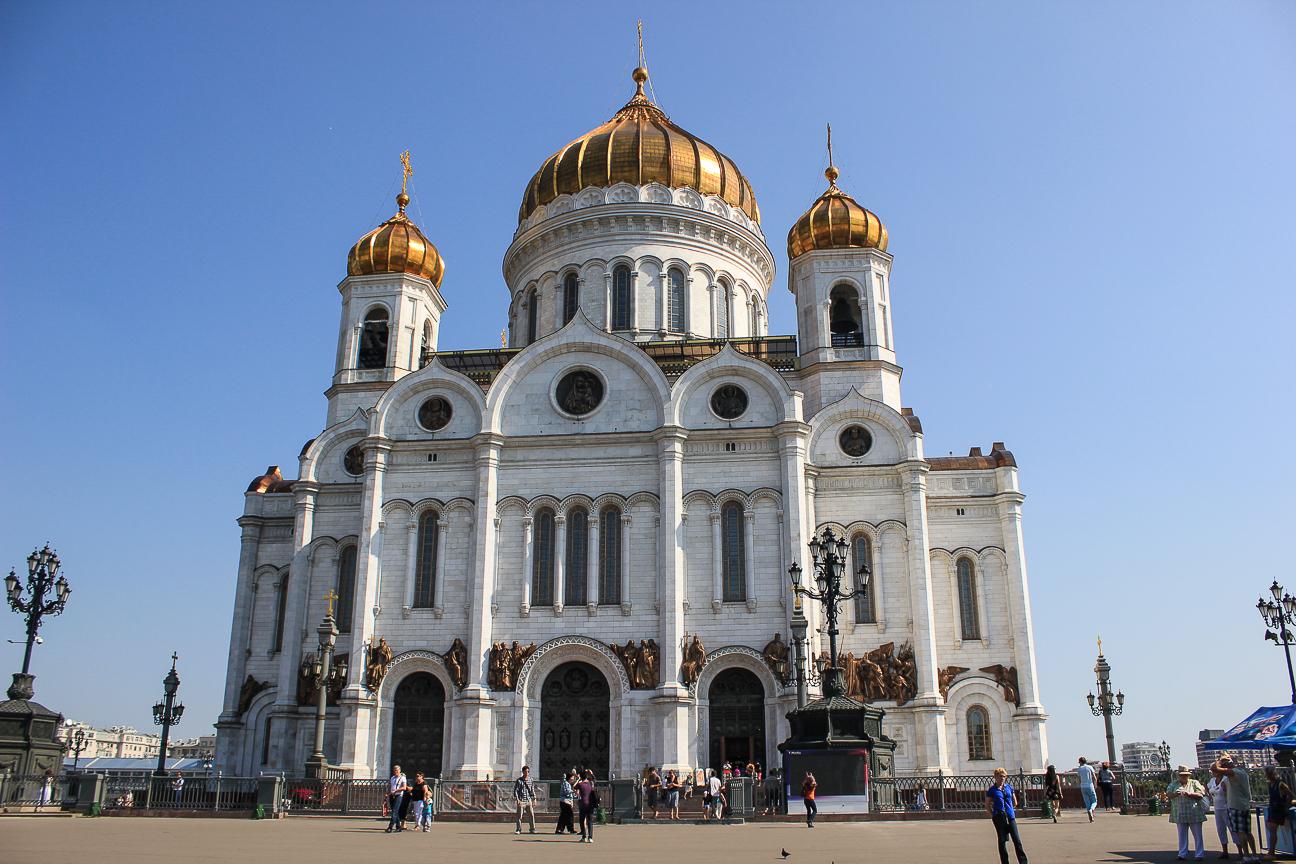 Que ver en Moscu - Catedral del Cristo Salvador
