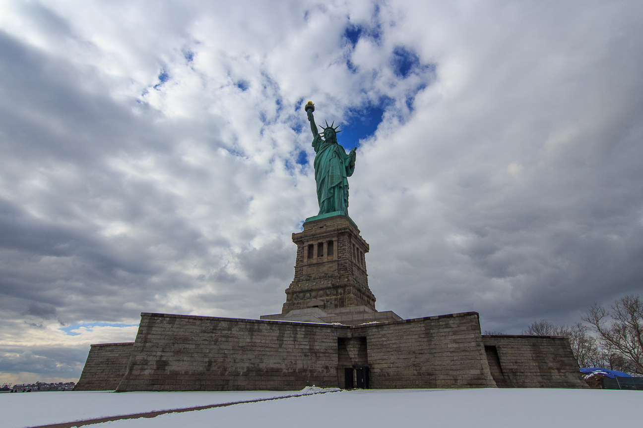 Que ver en Nueva York la estatua de la libertad