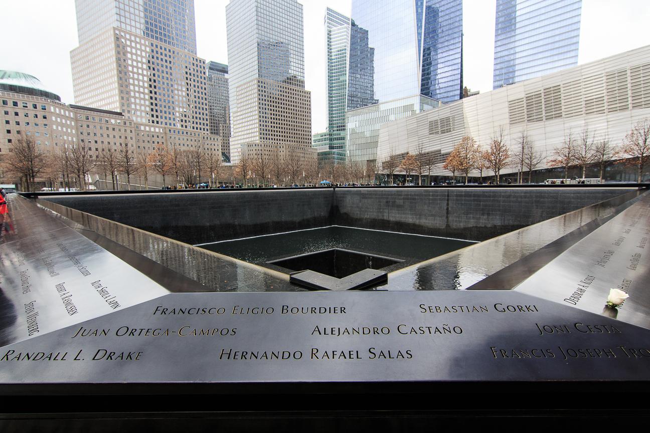 Que ver en Nueva York memorial del 11S