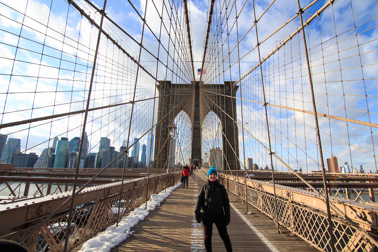 Que ver en Nueva York puente de Brooklyn