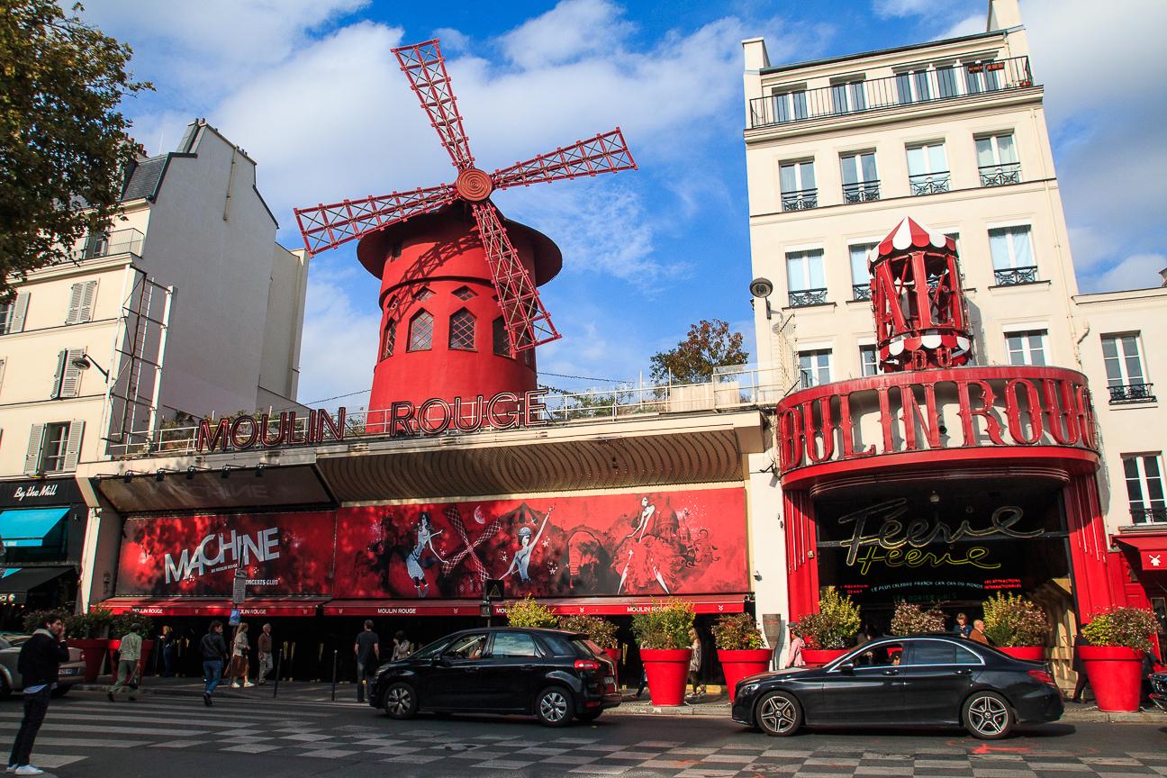 Que hacer en Paris Moulin Rouge