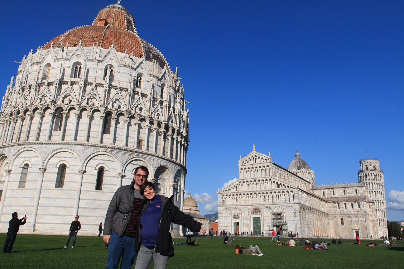 Que ver en Pisa la plaza de los milagros