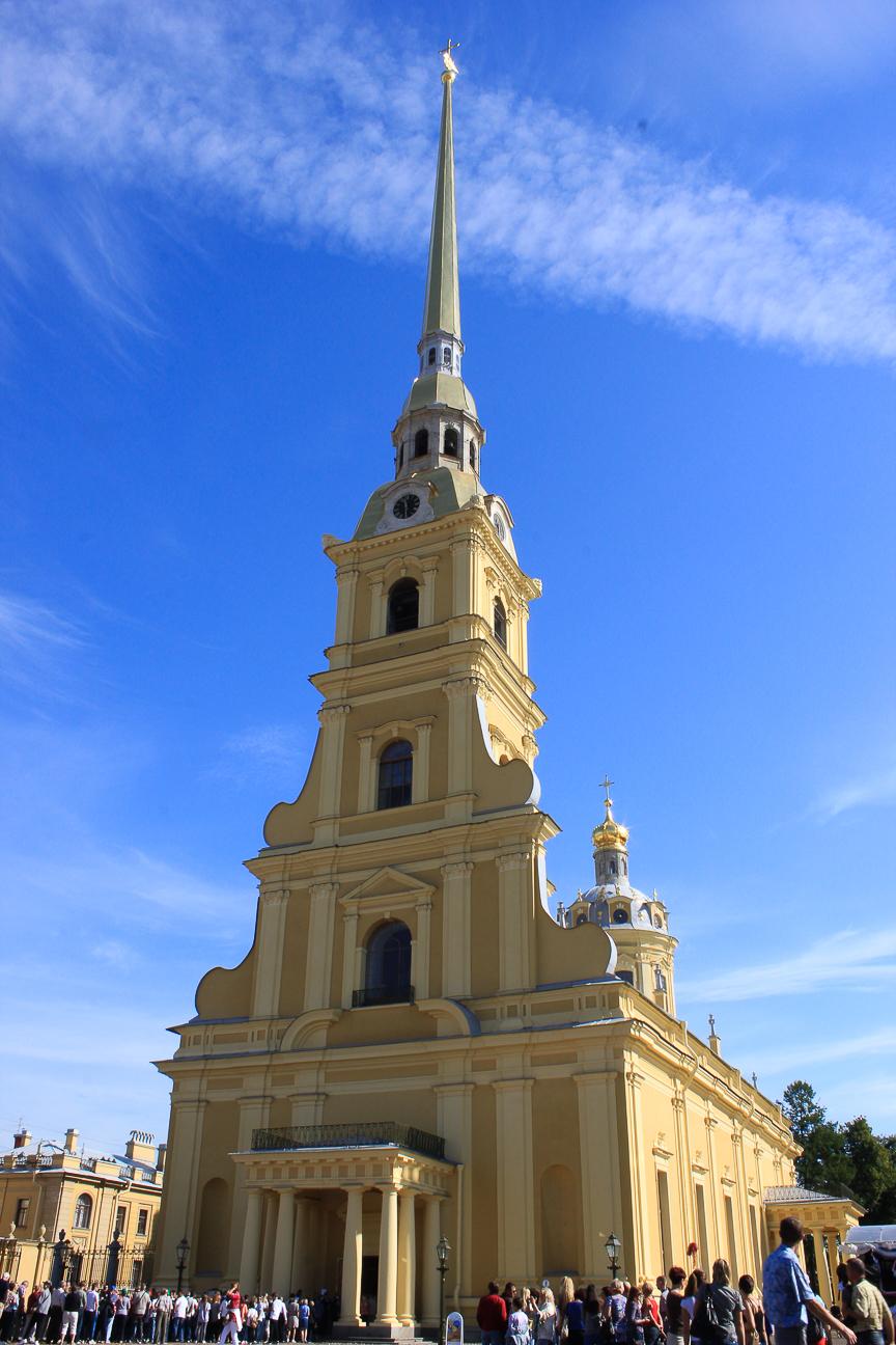 Que ver en San Petersburgo - Catedral de la Fortaleza de Pedro y Pablo