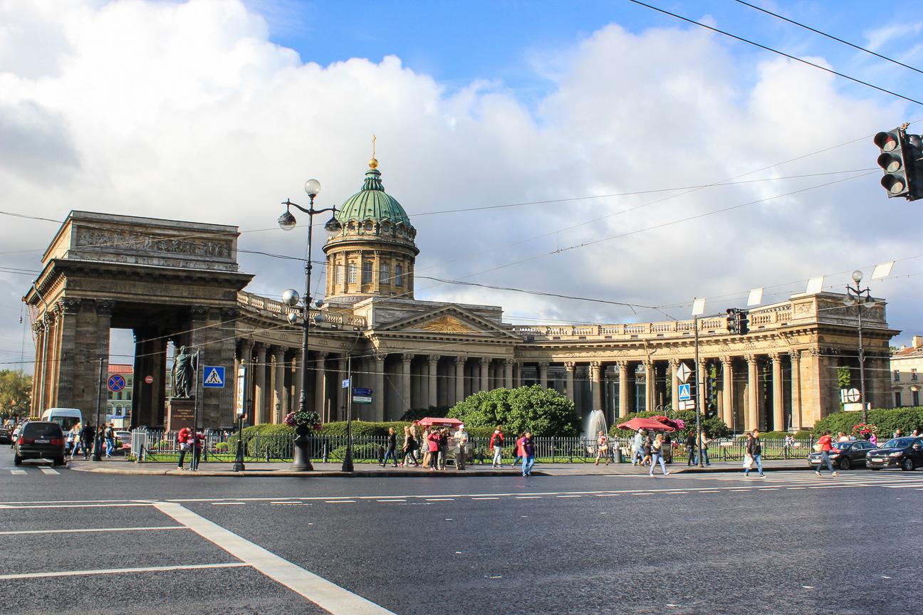 Que ver en San Petersburgo - Catedral de Kazan
