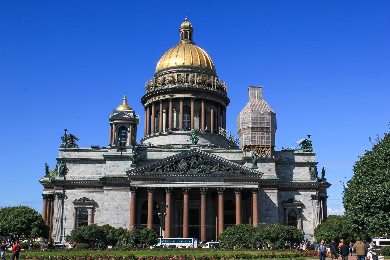 Que ver en San Petersburgo - Catedral de San Isaac