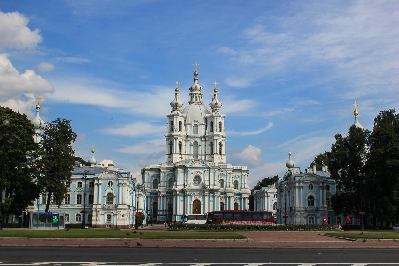 Que ver en San Peterburgo Catedral de Smolny