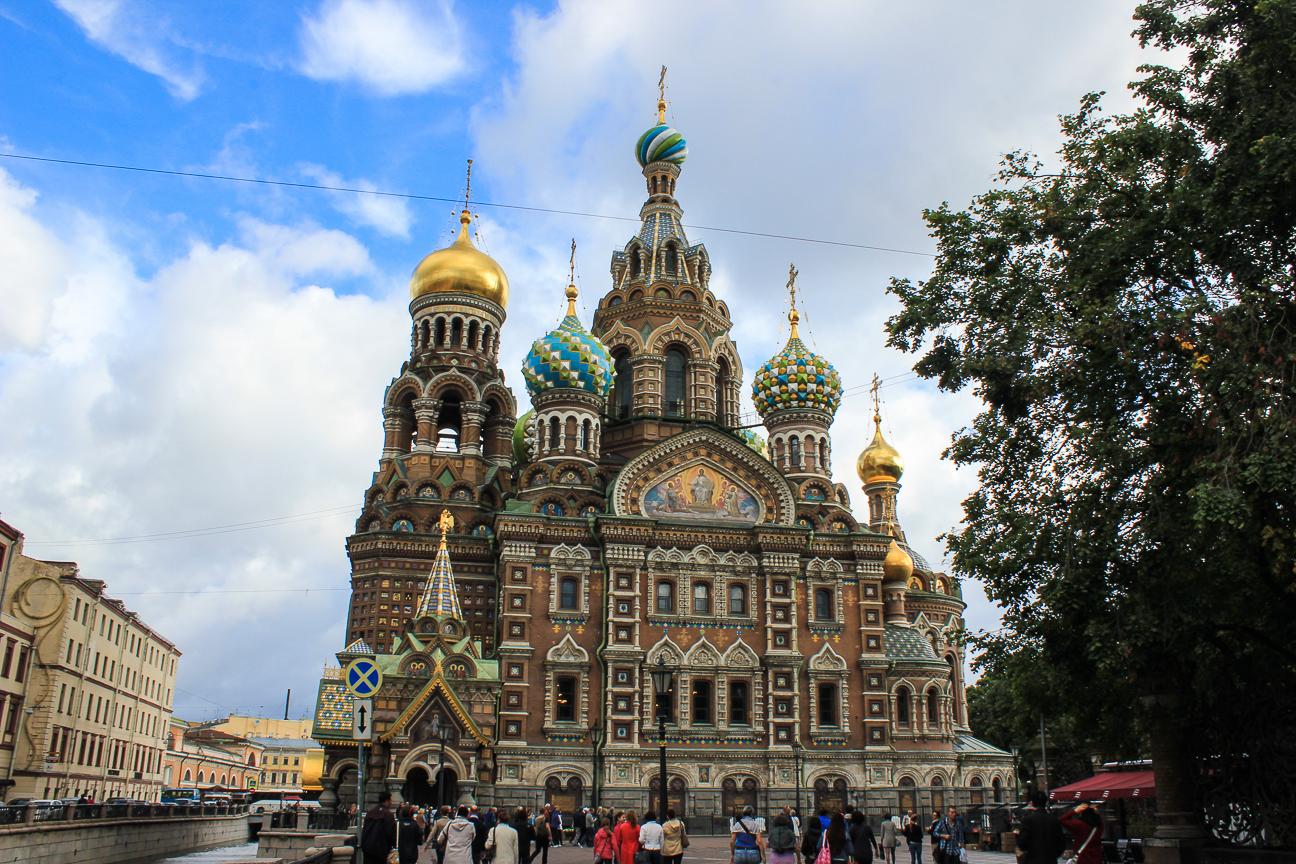 Que ver en San Petersburgo - Catedral del Salvador sobre la Sangre Derramada