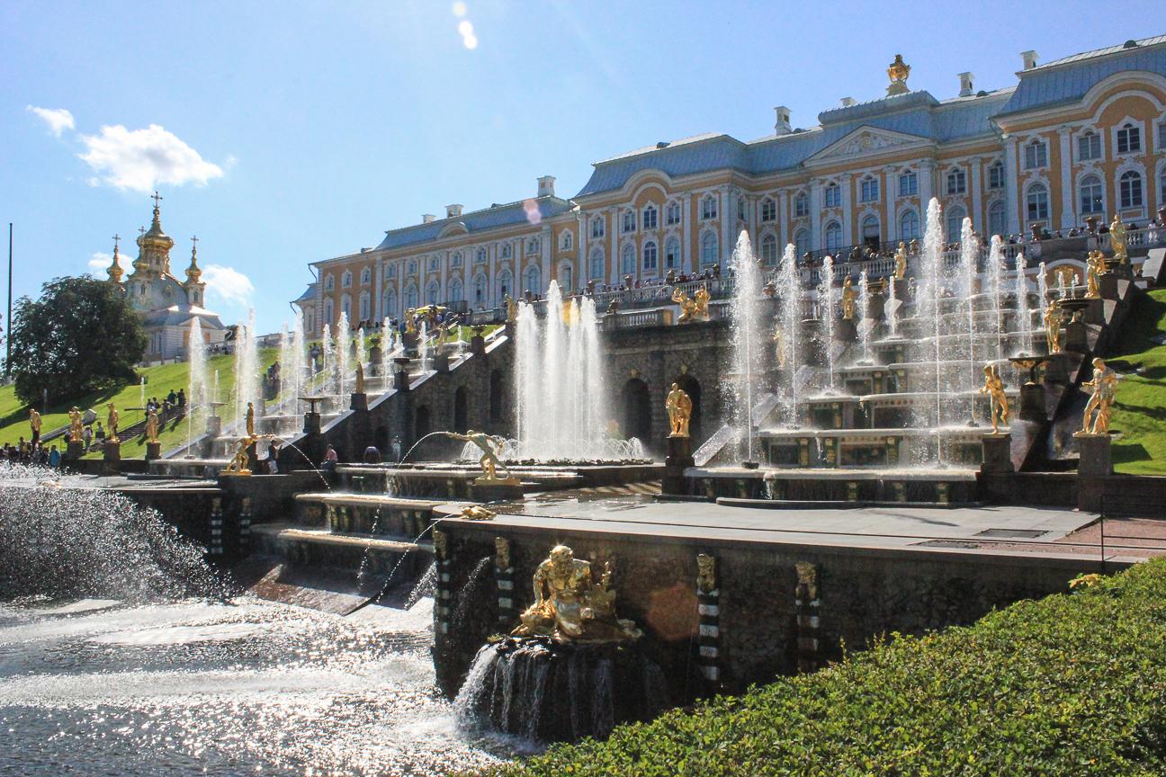 Que ver en San Petersburgo - Fuente Palacio Peterhof