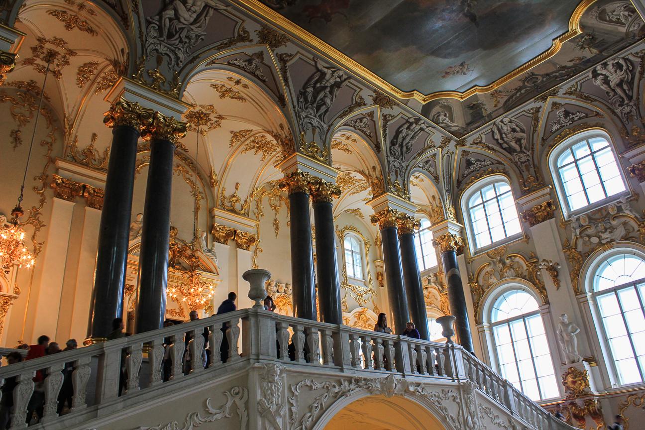 Que ver en San Petersburgo - Escaleras del Hermitage