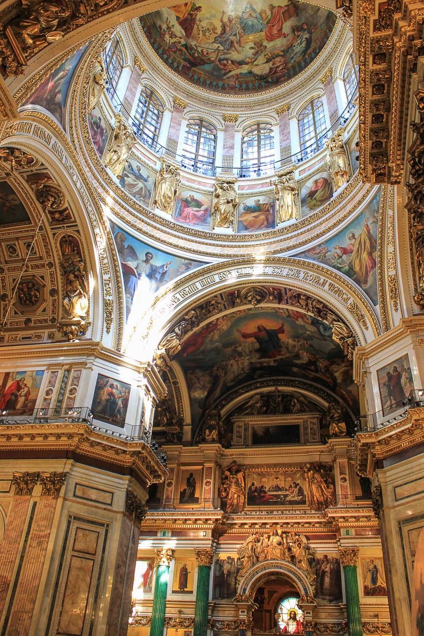 Que ver en San Petersburgo - Interior de San Isaac