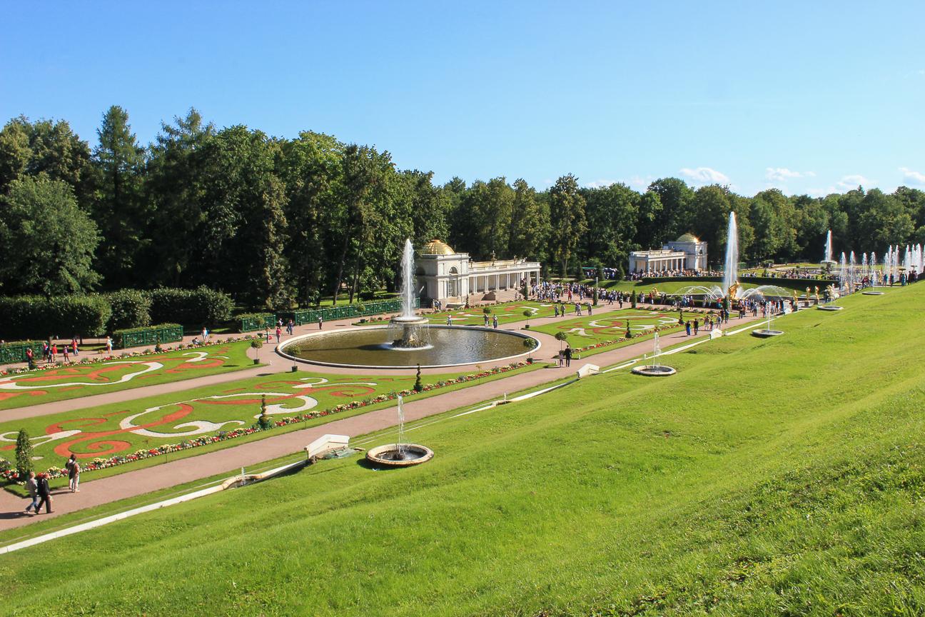 Que ver en San Petersburgo - Jardines inferiores del palacio de Peterhof